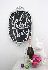 We Could Be Beautiful by Thrifted Genius Chalkboard Serving Tray Diy Darling