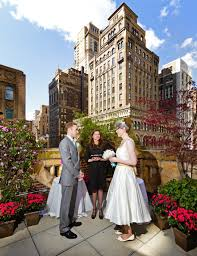 small wedding venues nyc the rooftop garden that connects the bookmarks lounge at the