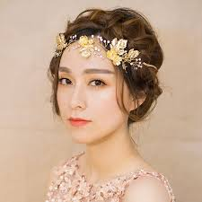gold headpiece 10 sparkly gold and silver floral headpieces womenitems