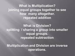 what is multiplication parent mathematics workshop ppt