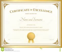 diploma samples certificates certificate of excellence resumess magisk co