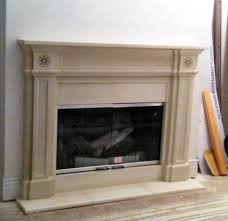 Custom Size Fireplace Screens by English Regent Contemporary Cast Stone Fireplaces Custom Size