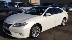 park place lexus pre owned lexus certified pre owned white 2013 es 350 fwd technology package