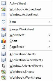 set worksheet using vba