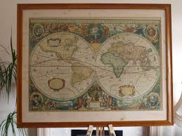 Framed Map Of The World by Printable Design Framed World Map Poster Poster Template
