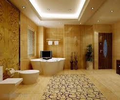 Bathroom Recessed Light Bathroom Recessed Lighting Ideas Beige Stained Wall Square White
