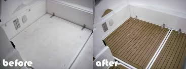 synthetic teak decking for boats boat floor replacement