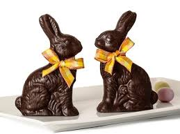 easter chocolate bunny chocolate easter bunny 8 oz li lac chocolates