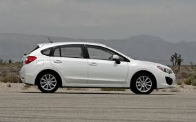 green subaru hatchback 2012 subaru impreza 2 0i premium and limited first test motor trend
