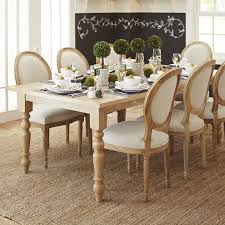 eliane flax dining chair with natural wood pier 1 imports