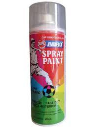 grey colour abro colour spray paint 400ml matt light grey amazon in car