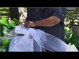 Wedding Pew Bows Wedding Ceremony Decorations Making Pew Bows Youtube