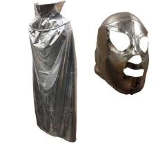 Metal Halloween Costumes Santo Youth Kids 30