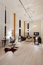 light hardwood floor to create fresh for modern apartment