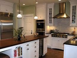 tv backsplash kitchen style white wooden cabinet also table with