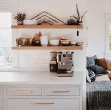 what height to hang cabinets height of floating kitchen shelves bigger than the three of us
