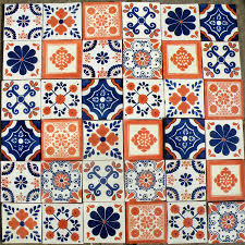 creating a splash of mexican colour mexican tiles wrestling
