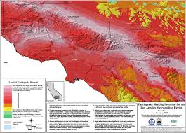 Earthquake Los Angeles Map by Earthquakes