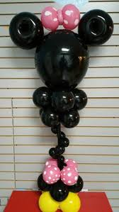 mickey mouse balloon arrangements minnie or mickey mouse balloons centerpiece mickey mouse