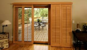 Sliding Shutters For Patio Doors New Brunswick Patio Door Shutter Choices Sunburst Shutters New
