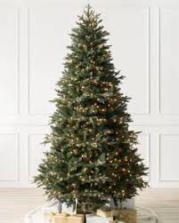 pre lit christmas tree pre lit christmas trees with clear led lights balsam hill