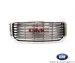 2015 2018 gmc yukon yukon xl front grille w chrome inserts