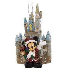 disney castle ornament ebay