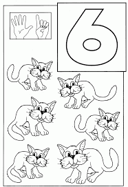 number 6 coloring page 31 best images about lesson 1 aiw home and