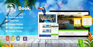 html5 templates for books book travel tour hotel booking html5 responsive template by