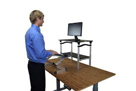 Convert Sitting Desk To Standing Desk by Amazon Com Lift Standing Desk Conversion Kit Tall Affordable