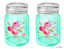 shabby chic mason ball jar free pretty things for you
