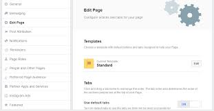 what you need to know about the facebook page template