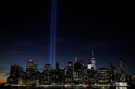nyc s tribute in light beams for sept 11 anniversary the