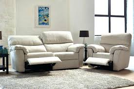Recliner Sofas Uk Fabric Recliner Sofa Chatel Co