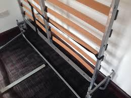 hideaway folding double bed youtube