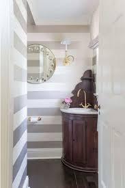 Striped Wallpaper Bathroom 11 Pretty Powder Rooms Powder Room Small Spaces And Room