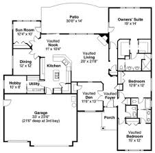 12 X 14 Bedroom Traditional Style House Plan 3 Beds 2 5 Baths 2700 Sq Ft Plan