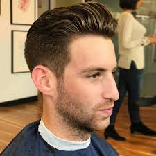stylish haircuts for men with curly hair loose quiff haircut jpg