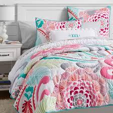 Girls Ocean Bedding by Ocean Bloom Wholecloth Quilt Sham Pbteen College Dorm Room