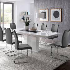 esszimmer weiß esszimmer weiss herrenhaus auf esszimmer auch modern weiss grau 7