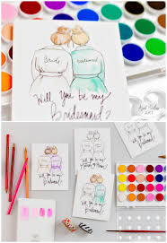 Will You Be My Godparent Invitation Card Will You Be My Bridesmaid Templates Ideas Canvas And Lace Will