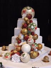 Christmas Cake Decorations Ireland by Christmas Bauble Cakes In Pink On Cake Geek Magazine Online By The