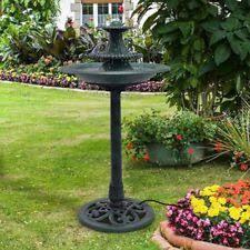 outdoor water fountain ebay