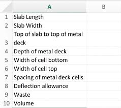 how to figure concrete for slab on metal deck constructorator