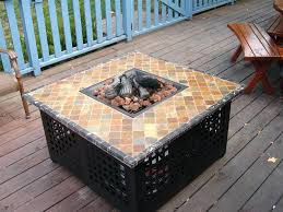 Home Made Firepit Outdoor Bowls Propane Pit Table Pit Design