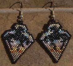 Handmade Seed Beaded Gold Plated 1075 Best Beaded Earrings Images On Pinterest Bead Earrings