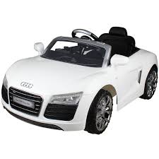 audi the car costway white audi 12v electric ride on car with mp3 rc