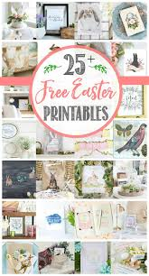Pier One Easter Decorations 2016 by Free Easter Printable Hop Clean And Scentsible