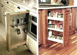 kitchen cabinet spice organizer upper cabinet spice rack pull out rootsrocks club