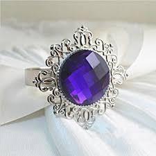 rond de serviette mariage rond de serviette mariage bague diamant pourpre un jour spécial